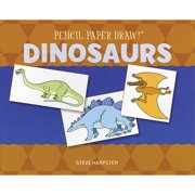 Sterling Publishing Pencil, Paper, Draw! Dinosaurs