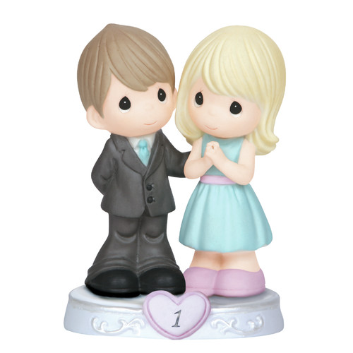 Precious Moments  Through the Years   1st Anniversary  Figurine