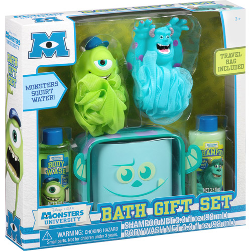 Disney Pixar Monsters University Bath Gift Set, 5 pc