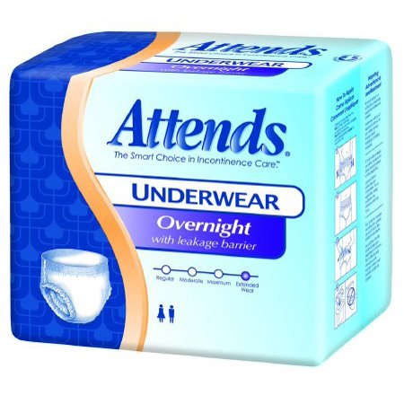 Attends Discreet Disposable Underwear Pull On MEDIUM APPNT20 16 / Bag (Discreet Bladder Protection Underwear)
