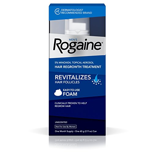 3 Pack Men's Rogaine 5% minoxidil topical Hair Regrowth Treatment 1 Month Each
