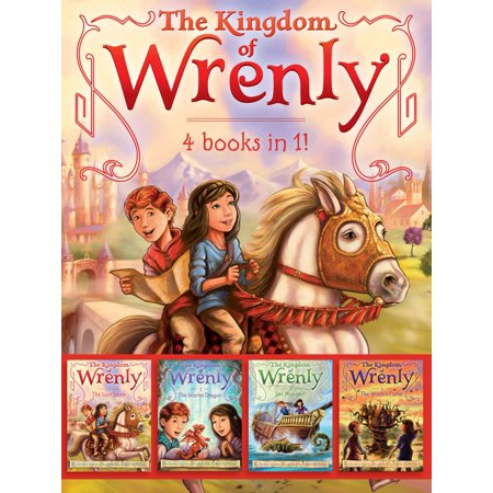 The Kingdom of Wrenly 4 Books in 1! : The Lost Stone; The Scarlet Dragon; Sea Monster!; The Witch's (In This Moment Lost At Sea Acoustic)