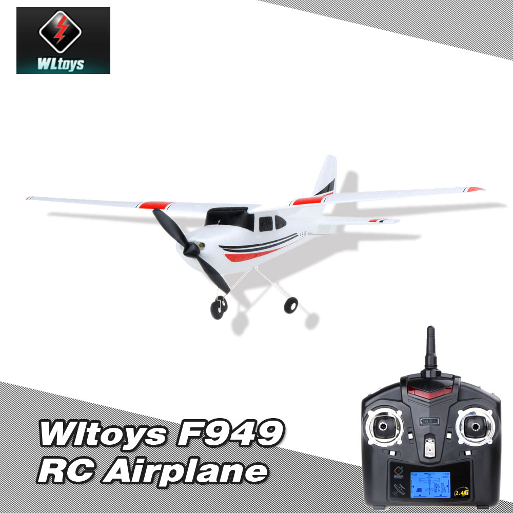 Wltoys F949 2.4G 3Ch RC Airplane Fixed Wing Plane Outdoor toys by