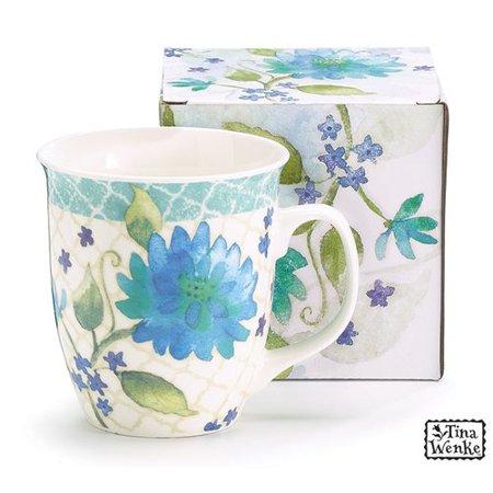 - August Grove Kopnisky Floral Fresh Coffee Mug (Set of 6)