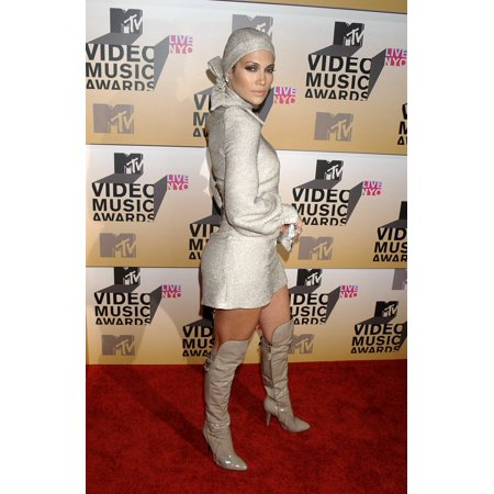 Jennifer Lopez (Wearing A Biba Dress And Head Wrap With Versace Boots) At Arrivals For Mtv Video Music Awards VmaS 2006 - Arrivals Radio City Music Hall At Rockefeller Center New York Ny August 31 200](Rockefeller Center Halloween)
