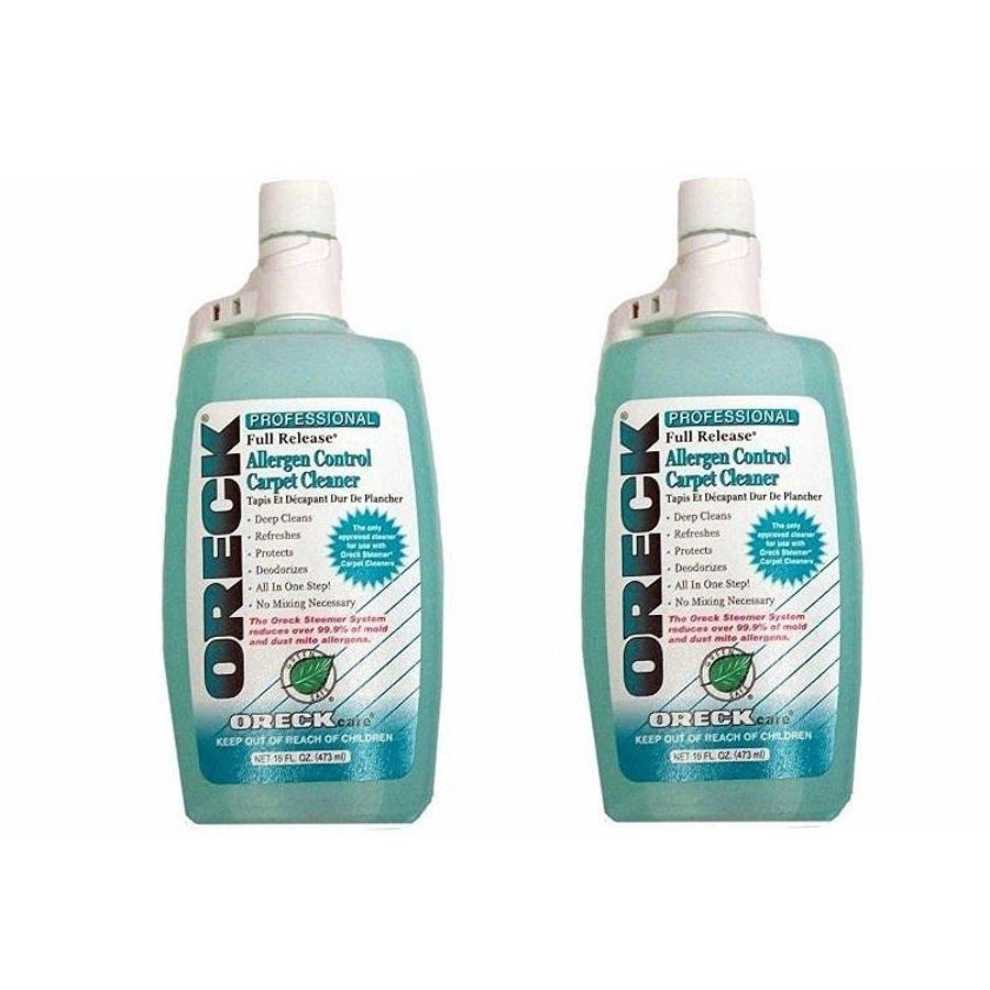 Oreck Carpet Cleaning and Hard Floor Cleaner Shampoo, 2 Pack