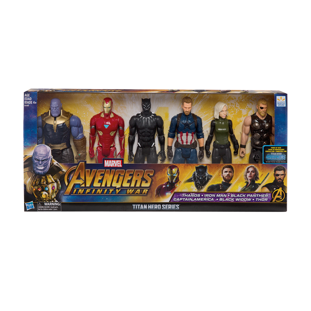 Marvel Avengers: Infinity War Titan Hero Assembled Collection Figure 6-Pack