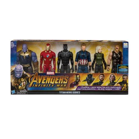 Marvel Avengers: Infinity War Titan Hero Assembled Collection Figure 6-Pack