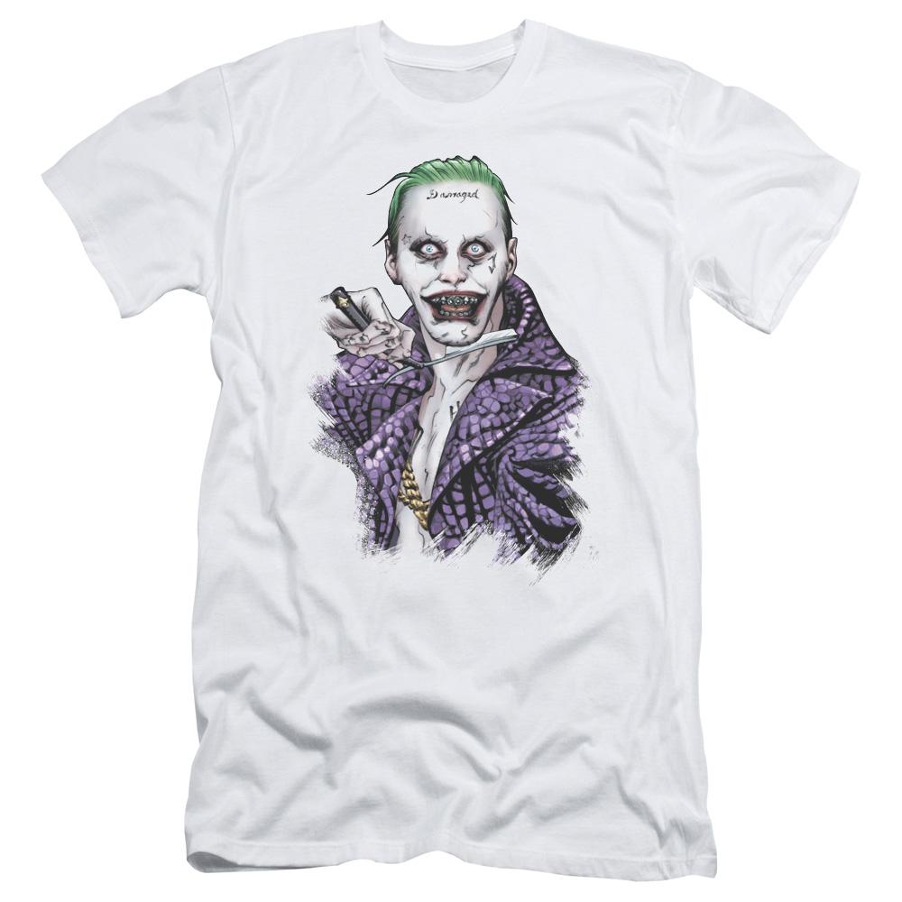 2Bhip Suicide Squad Joker Damaged Razor Blade Premium Can...