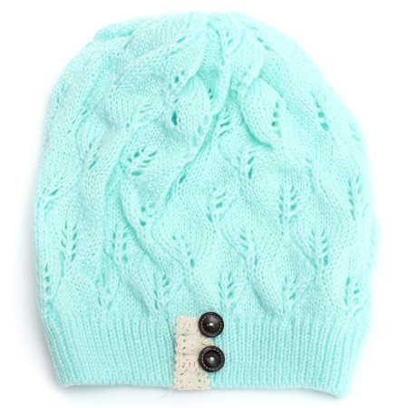 Fashion Winter Warm Over sized Hat Knit Baggy Beanie Hats Cotton Blends  Ski Outdoor Sports Hat - image 4 of 6
