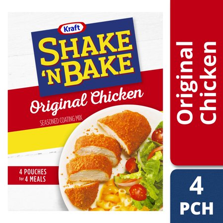 No Bake Halloween Food Ideas ((2 Pack) Kraft Shake 'n Bake Original Recipe Chicken Seasoned Coating Mix, 9 oz)