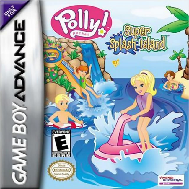 Polly Pocket Super Splash Island GBA