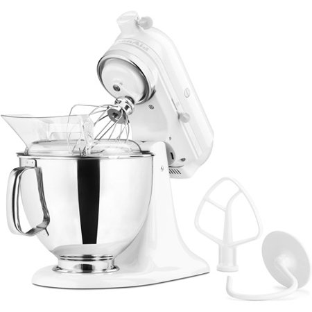 Kitchenaid 5qt artisan stand mixer white - Kitchenaid accessories walmart ...