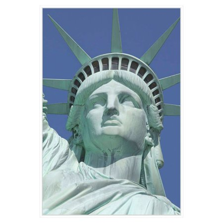 PTM Images Statue of Liberty 3 Framed Canvas Wall Art Statue Of Liberty Image