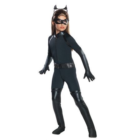 Dark Knight Rises Catwoman Goggles (Batman Dark Knight Rises Child's Deluxe Catwoman Costume - Small size 4-6, Style)