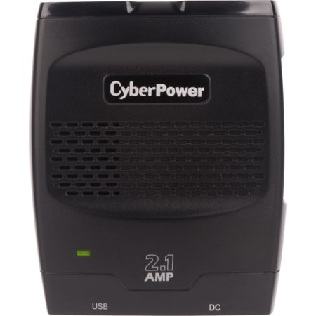 (CyberPower CPS175SURC1 Mobile Power Inverter 175W with 2.1A USB Charger, Black)