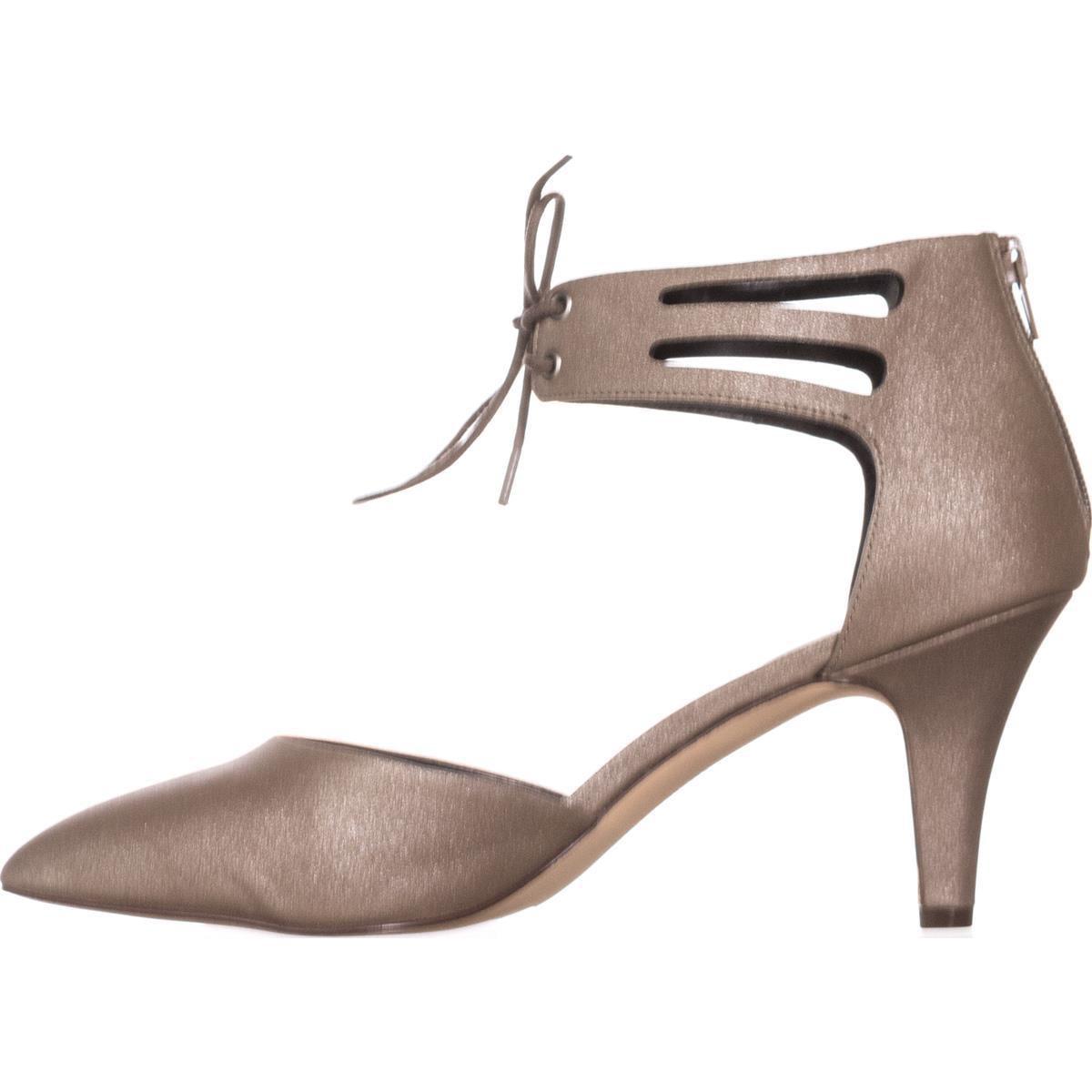 Womens SC35 Vanaa Ankle Strap Pumps, Flint