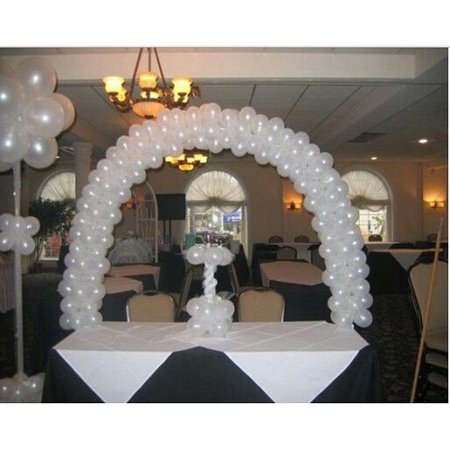 Efavormart 12FT Balloon Arch Table Stand (Heavy Duty Metal Clamps) For Wedding Party Birthday Shower Celebration