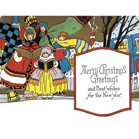 (Golden Memories Christmas Correspondence Card Packs: Carrollers (Other))