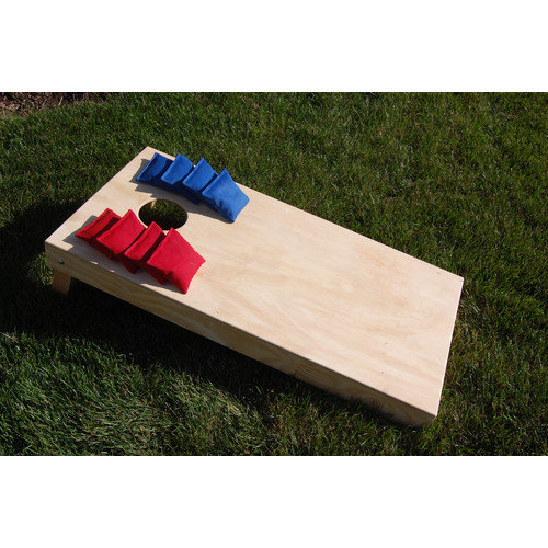 SC Cornhole 4' x 2' Regulation Plain Cornhole Set
