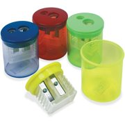 Eisen, TPGESN51312, Two-hole Sharpener, 12 / Box, Assorted