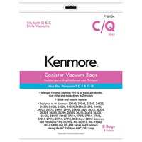 Product Image 8 Kenmore Style C Q Allergen Filtration Canister Vacuum Bags 50104 Also