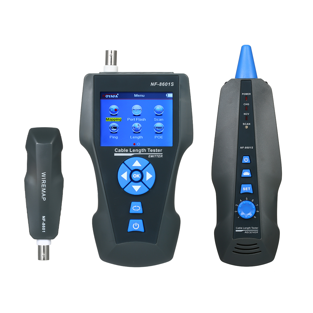 Digital Line Finder Protable Digital LCD Network Cable Wiring Tester Meter Tracker Detector Network Cable Tester