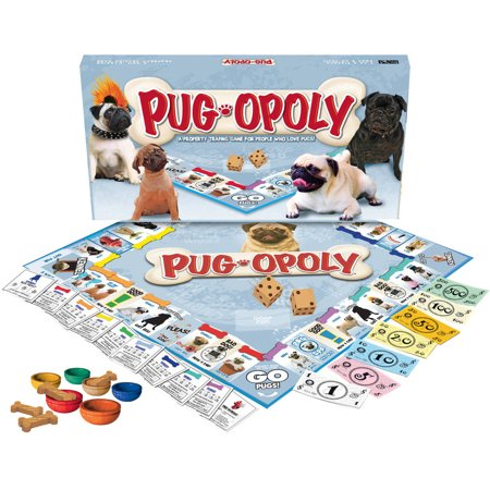Late for the Sky Pug-opoly Game