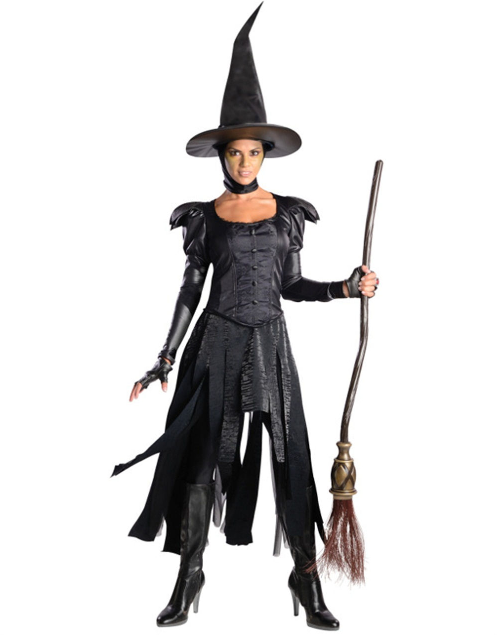 Oz the Great and Powerful Deluxe Wicked Witch of the West Adult Halloween Costume  sc 1 st  Walmart & Wizard Of Oz Costumes