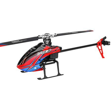 XK K130 2.4G 6CH Brushless 3D6G System Flybarless RC Helicopter BNF Compatible with FUTABA S-FHSS Without remote control 2 battery - image 7 de 7