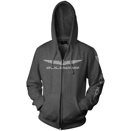 - Honda Collection Gold Wing Corporate Logo Zip Hoody