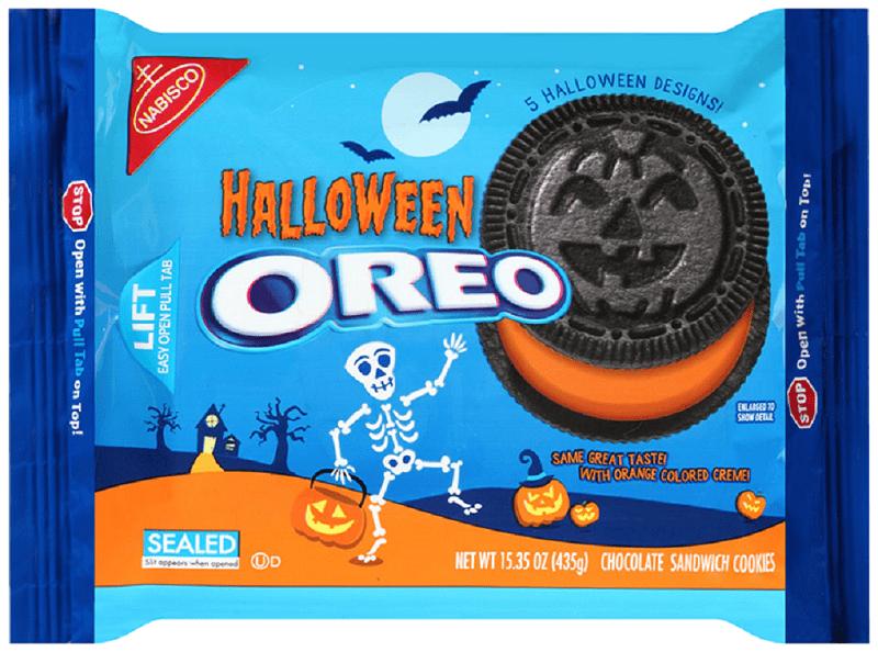 Nabisco Oreo Halloween Chocolate Sandwich Cookies, 15.35 Oz. , Walmart.com