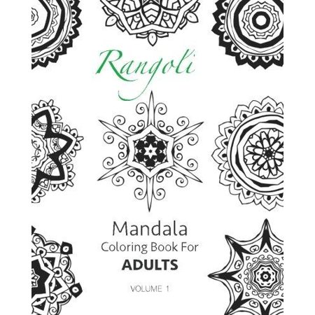Rangoli Mandala Coloring Book For Adults Volume 1