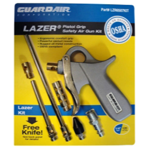 Guardair Corporation LZR6507KIT Lazer Pistol Grip Safety Air Gun Kit
