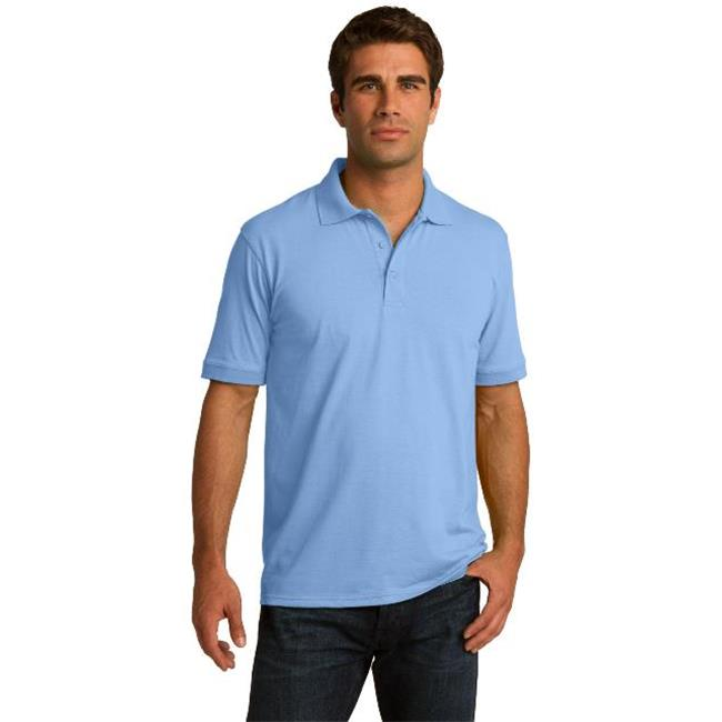 Port & Company® Tall Core Blend Jersey Knit Polo. Kp55t Light Blue 2Xlt - image 1 of 1