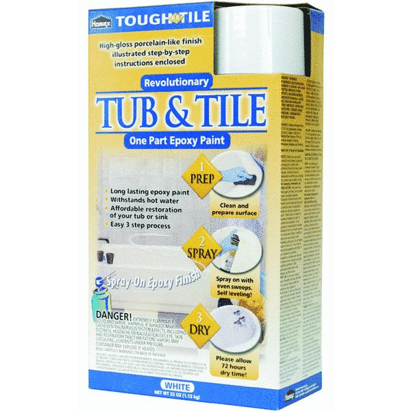 Homax Tough as Tile Epoxy Tub & Tile Spray Paint
