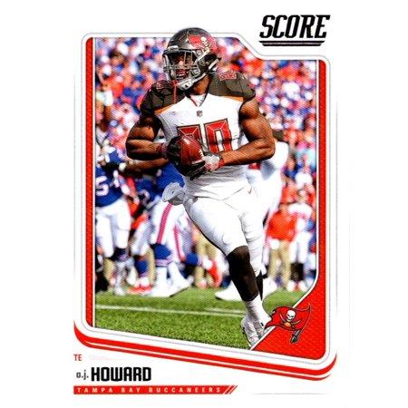 2018 Score #309 O.J. Howard Tampa Bay Buccaneers Football Card