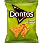 Doritos Poppin' Jalapeno Flavored Tortilla Chips, 9.75 oz Bag