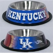 DoggieNation 716298576461 One Size Kentucky Wildcats Dog Bowl - Stainless
