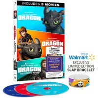 How To Train Your Dragon 3-Movie Collection (DVD)