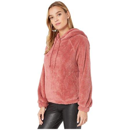 Billabong Women's Warm Regards Sherpa Pullover Hoodie Billabong Cotton Sweatshirt