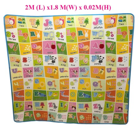 New Educational Non Toxic Playmat Baby Toddler Kids