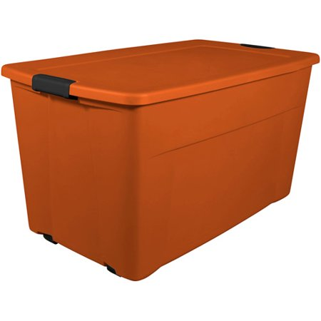 Sterilite 45 Gallon 180 Quart Wheeled Latch Storage Box Set Of