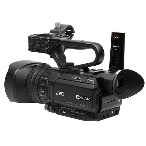 JVC GY-HM200SP 4KCAM Compact Handheld Streaming Camcorder by JVC