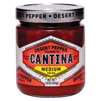 Desert Pepper Trading Cantina Salsa - Medium Red - pack of 6 - 16 Oz