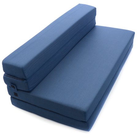 Milliard Tri Fold Foam Folding Mattress And Sofa Bed For Guests Or Floor Mat
