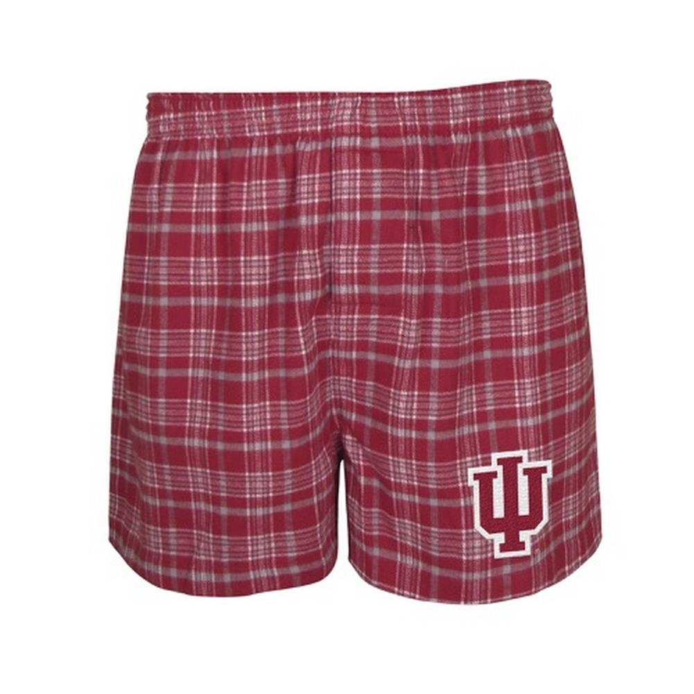 Men's Indiana University Hoosiers Boxer Shorts by Concepts Sport