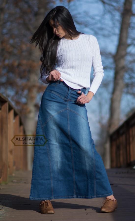 Vintage Denim Pencil Skirt  Vintage Eddie Bauer Skirt  Vintage Denim Skirt  Vintage Denim Straight Skirt  Vintage Jean Skirt