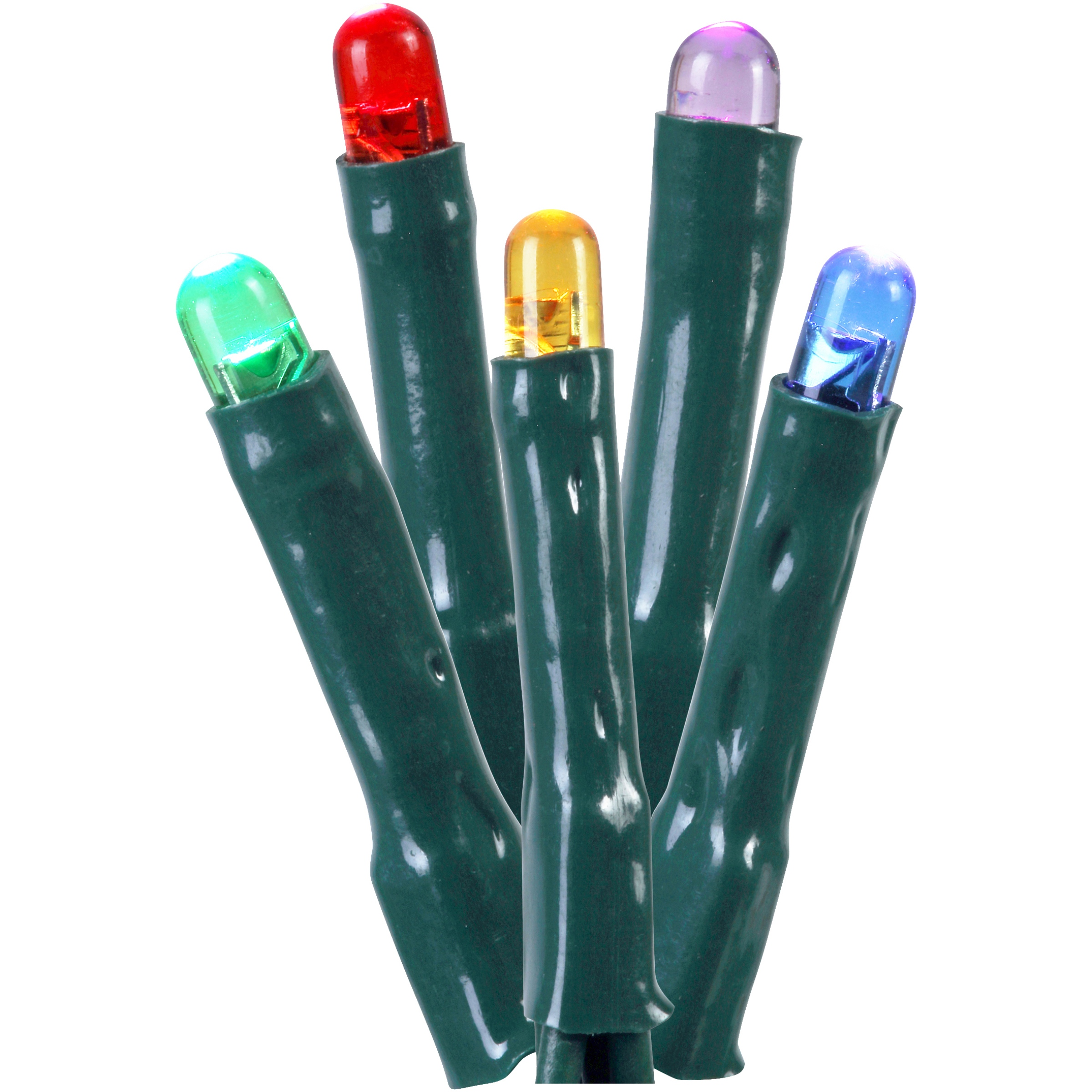 Holiday Time 150 8-Function Solar Power LED Micro Lights, Multicolor