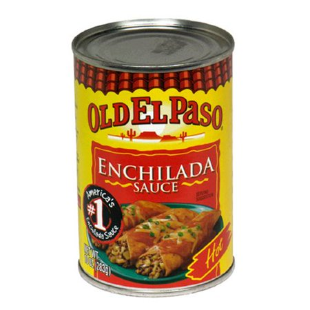 Hot Enchilada Sauce, 10-Ounce Cans (Pack of 12) El